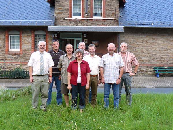 Bild des neuen Gemeinderates
