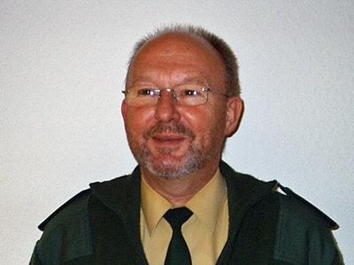 Foto von Polizeihautkommissar Rudi Voss