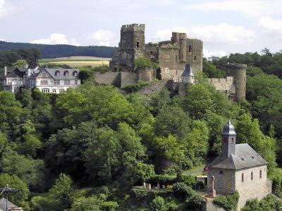 Burg Reichenberg Gesamtanlage