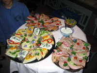 Bild der Platte mit Broten