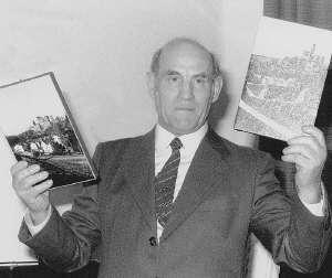 Bild des Altbürgermeisters Bernhard Kraus