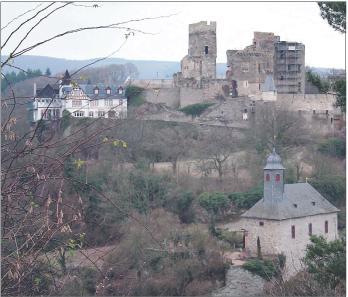 Bild der Burg Reichenberg