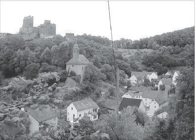 Foto der Burg Reichenberg