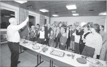 Bild der Anwesenden beim Jahresabschlussempfang